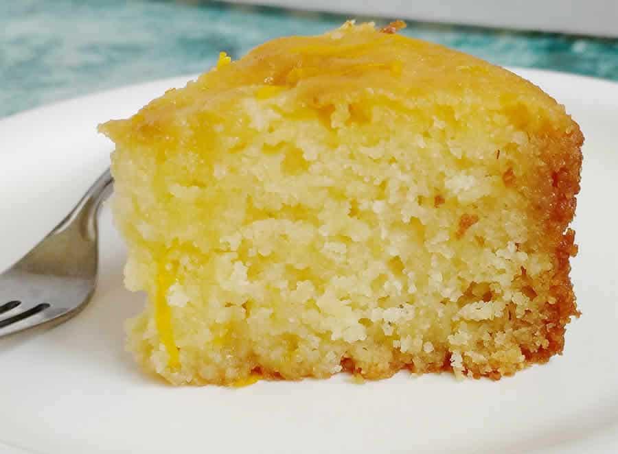 Gâteau de semoule à l'orange Recette WW