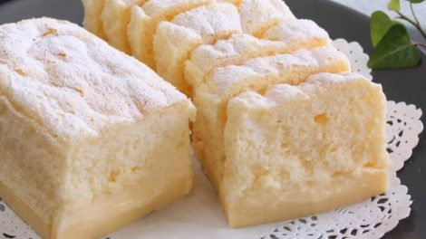 Gâteau magique à la vanille au Cookeo