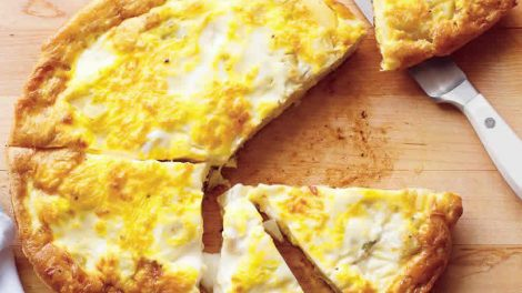 Omelette aux poireaux et ricotta Recette WW