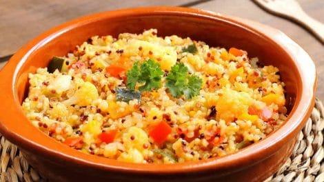 Quinoa aux légumes au Cookeo