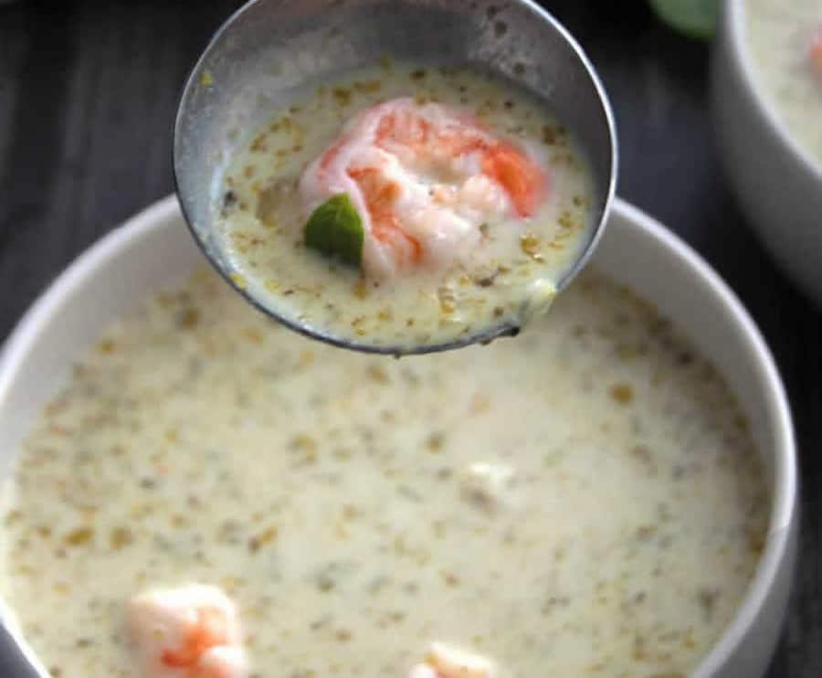 Soupe aux crevettes au Thermomix