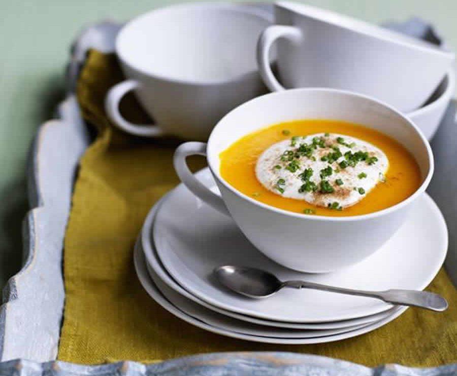 Soupe de carottes à la normande au Thermomix