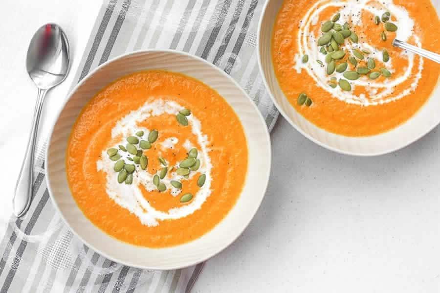 Soupe de carottes au gingembre au Thermomix