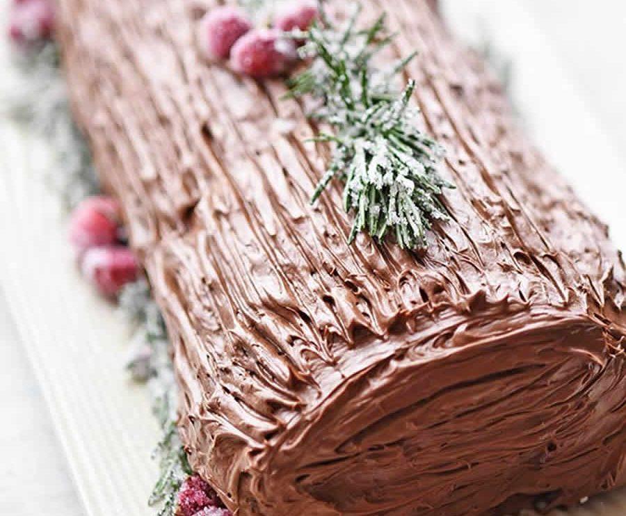 Bûche de Noël au Nutella au Thermomix