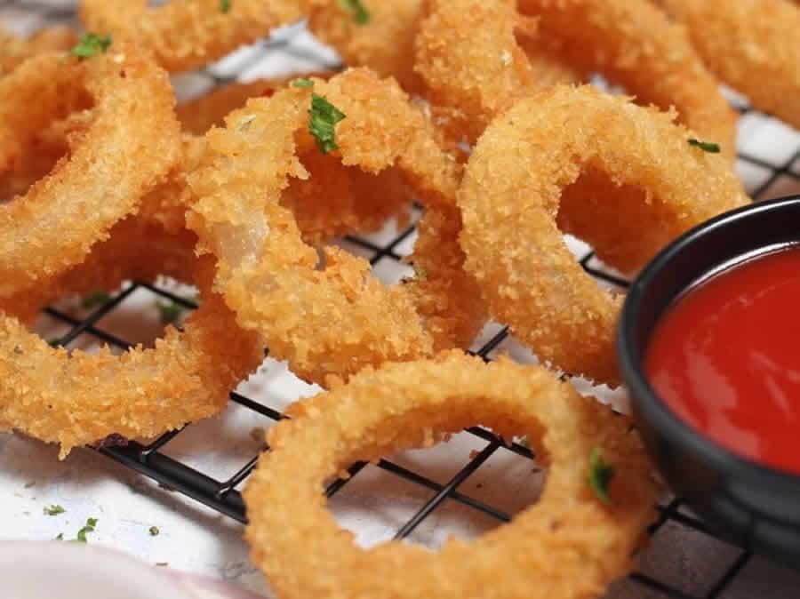Beignets d'oignons ou Onion rings