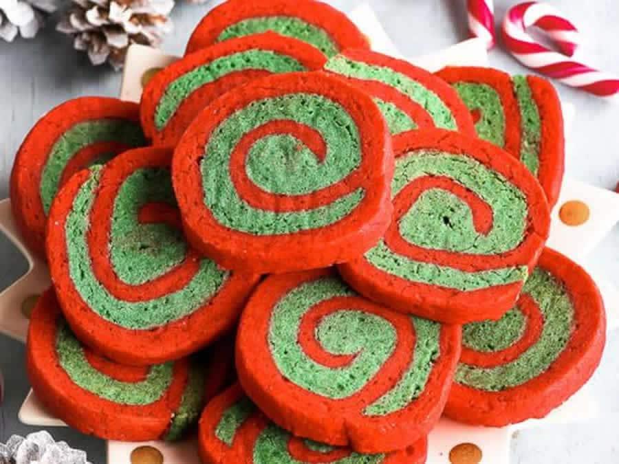 Biscuits de Noël spirale au Thermomix