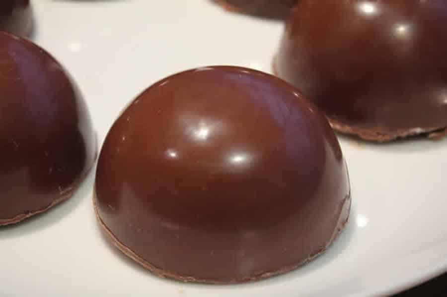 Chocolat de Noël au caramel beurre salé au Thermomix