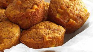 Mini-cakes de potimarron au chorizo au Thermomix