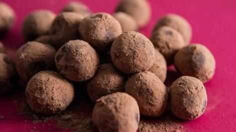 Truffes au chocolat de Noël Recette WW