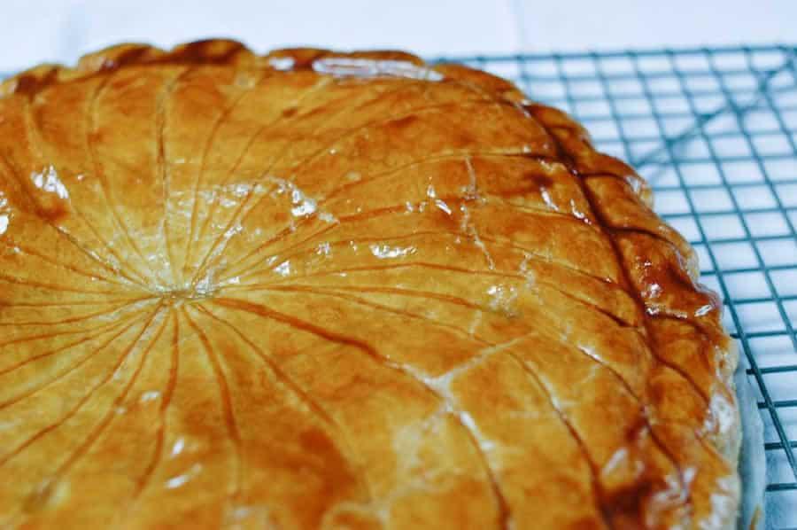 Galette des Rois au caramel beurre salé et pommes au Thermomix
