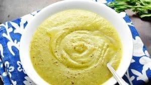 Purée de courgette et pommes de terre au Thermomix