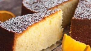 Gâteau au jus d'orange au Thermomix