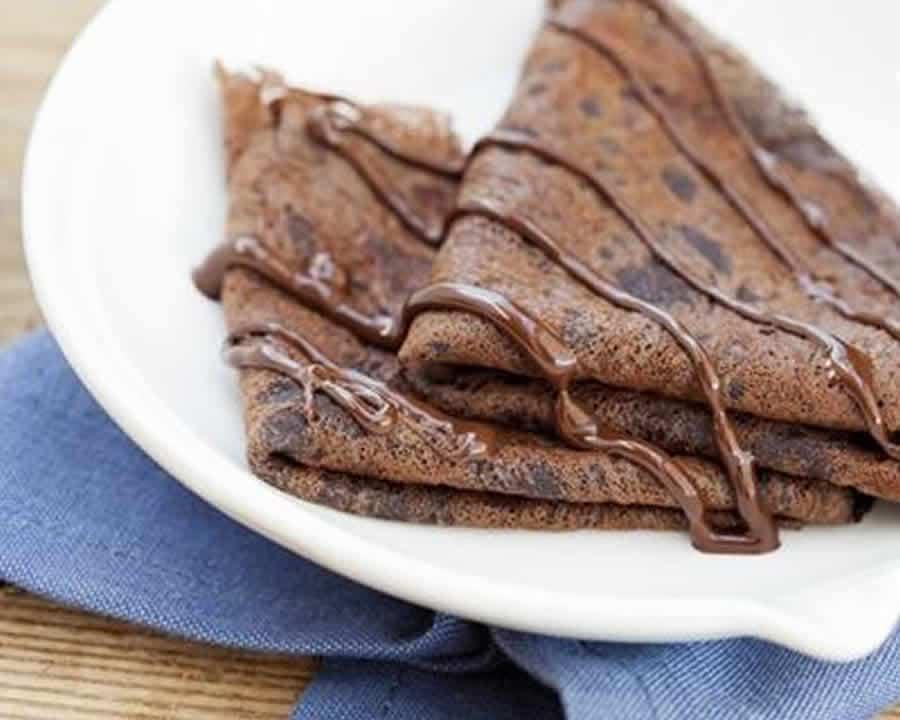 Pâte à crêpes au chocolat au Thermomix