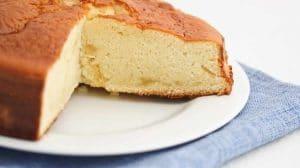 Gâteau au lait concentré sucré au Thermomix