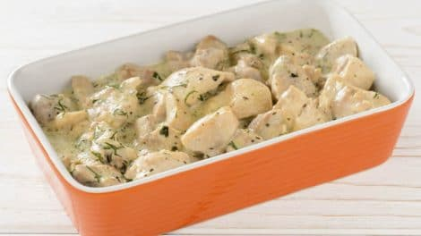 Poulet à la sauce au gorgonzola WW