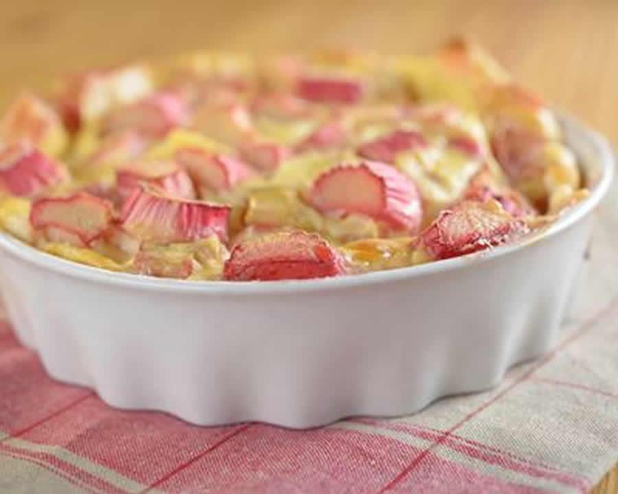 Tarte aux pommes et rhubarbe au Thermomix