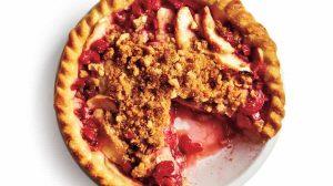Tarte à la rhubarbe et aux pommes WW