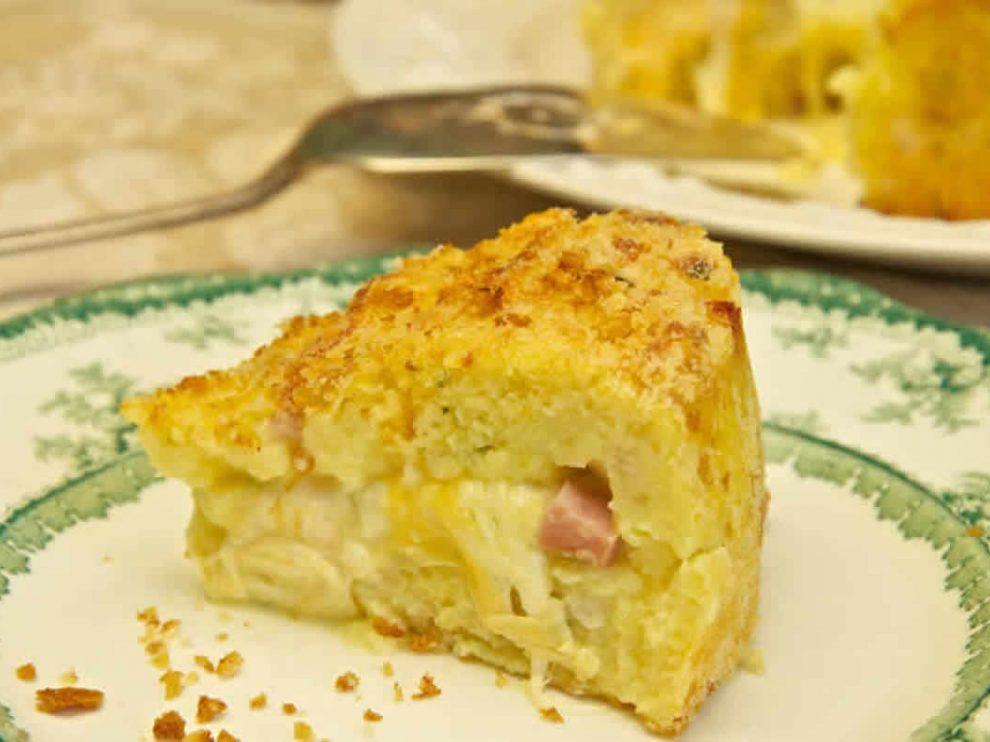 Gâteau de pommes de terre à la napolitaine au Thermomix