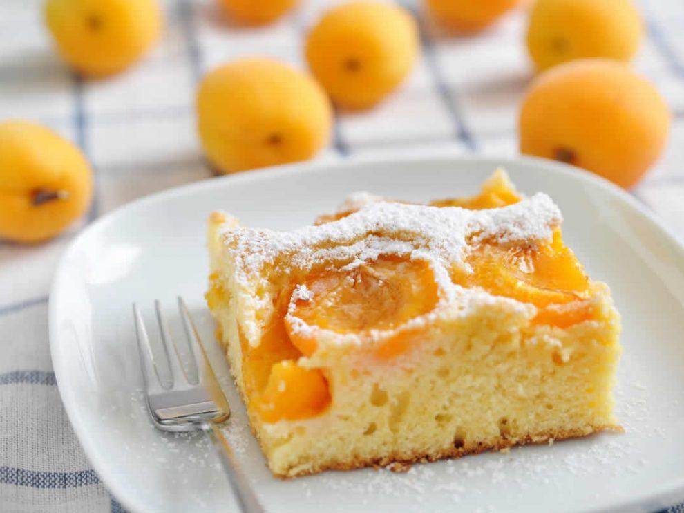 Gâteau à l'abricot WW