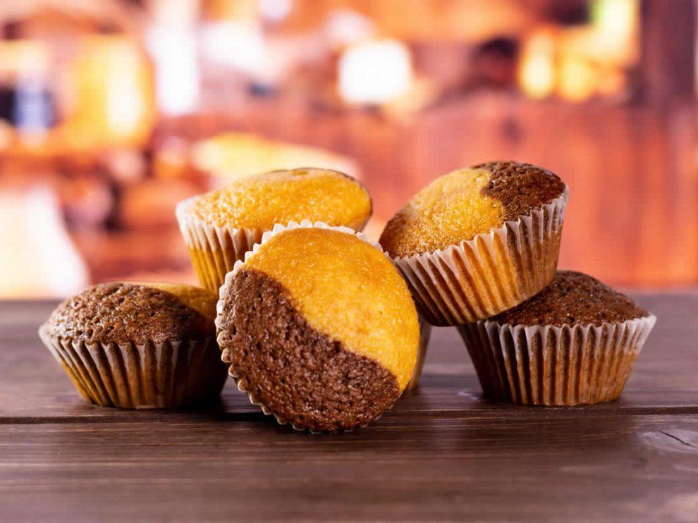 Muffins marbrés au Thermomix