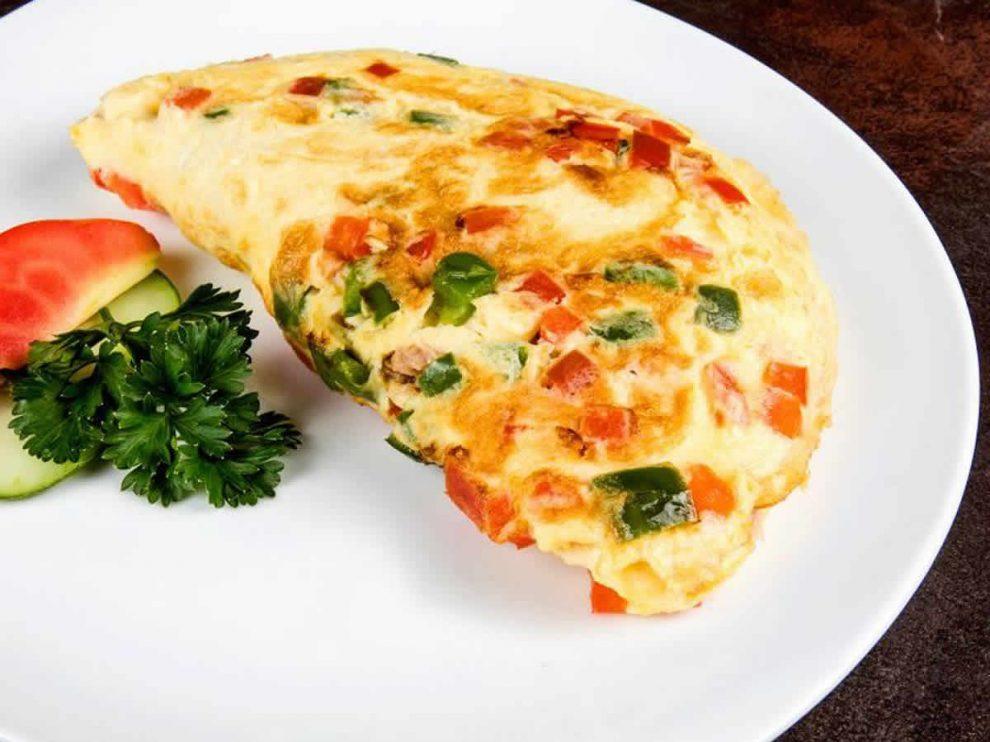 Omelette au thon et poivron au Thermomix