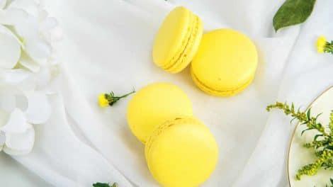 Macarons au citron au Thermomix