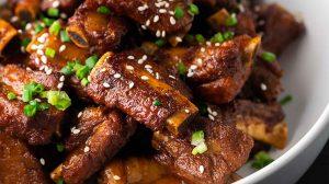Travers de porc à la chinoise au thermomix
