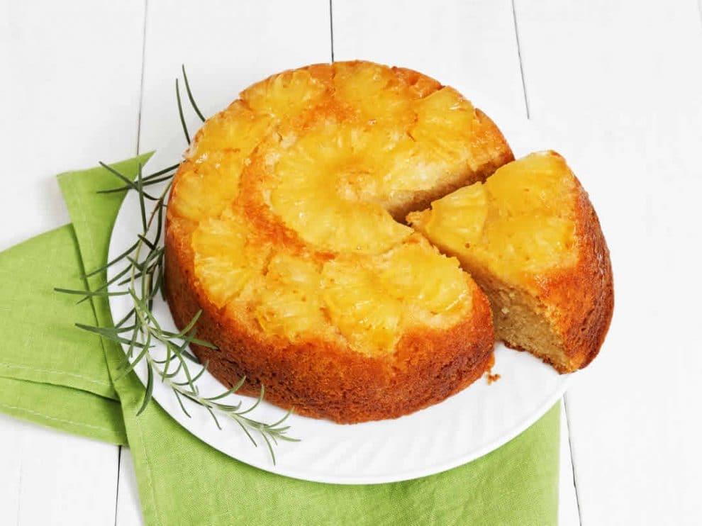 Gâteau à l'ananas et fromage frais WW