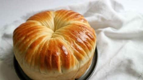 Brioche Wool Roll Bread au Thermomix