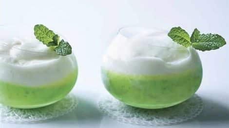 Crème dessert virgin mojito au Thermomix