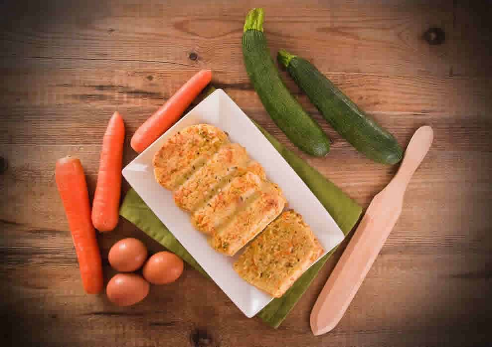 Flan de courgette et carotte au Thermomix