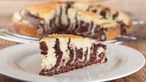 Gâteau Marbré à la Ricotta au Thermomix