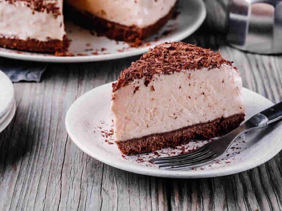 Gâteau au fromage et au chocolat sans cuisson