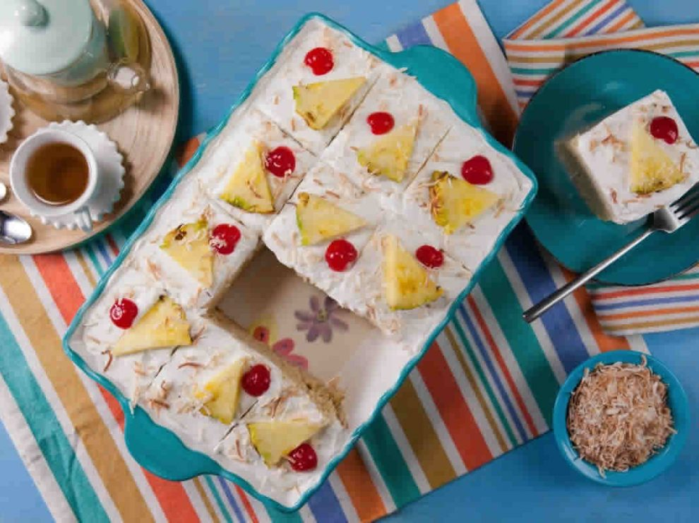Gâteau glacé Piña Colada