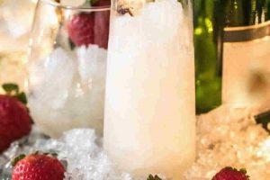 Granité de champagne au Thermomix