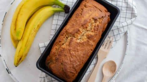 Moelleux léger au banane et cannelle