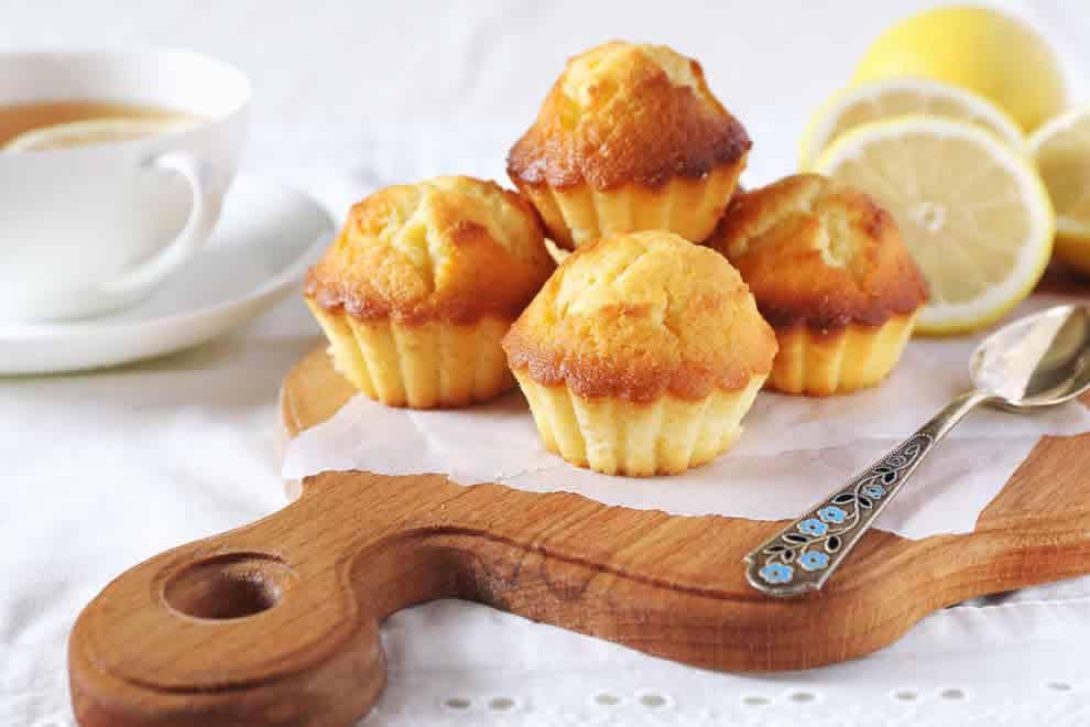 Muffins au citron et au miel au Thermomix