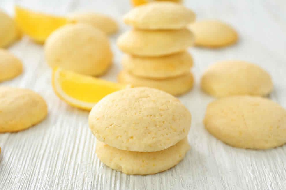 Biscuits Légers au citron