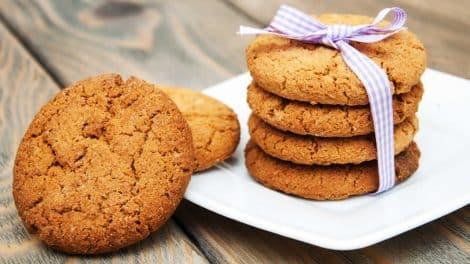 Biscuits diététiques complets faits maison, légers et délicieux