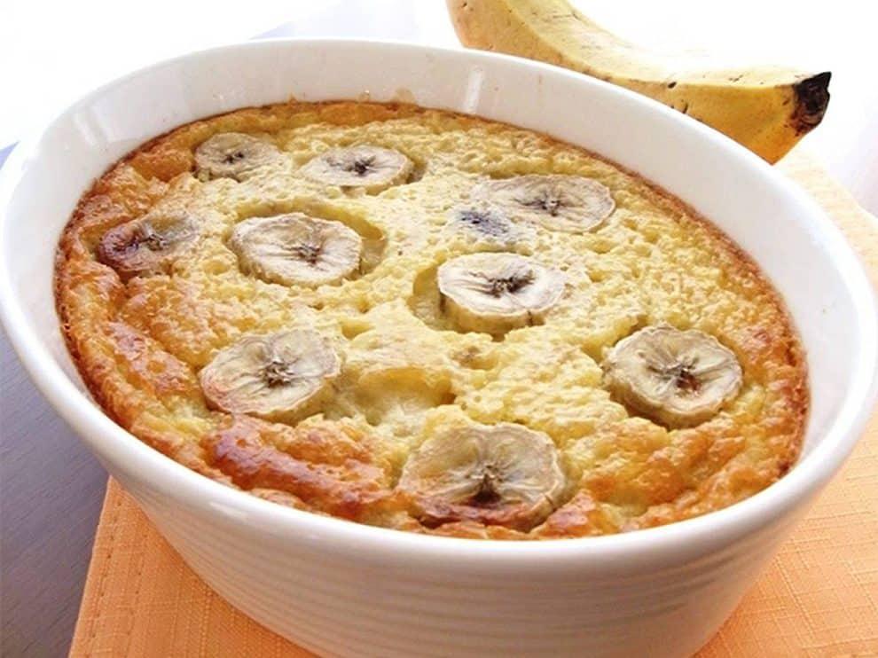 Clafoutis Léger à la banane et aux dattes