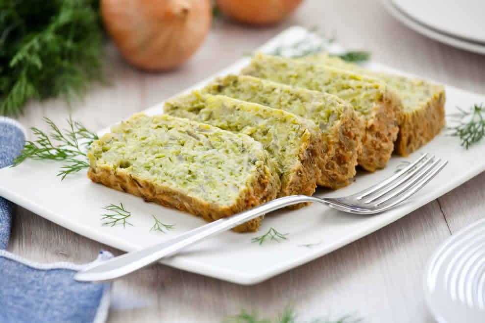 Flan Léger de courgettes au parmesan