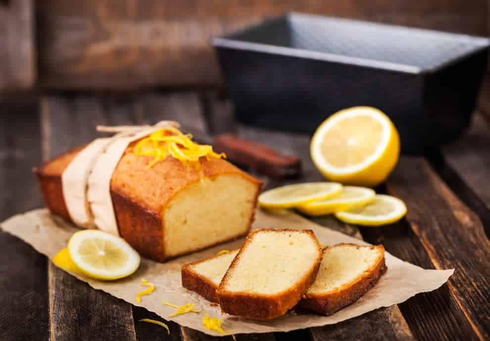 Gâteau léger au citron sans oeufs, moelleux et savoureux
