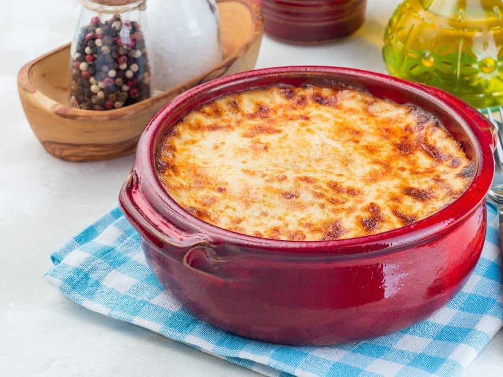 Gratin Léger d'aubergines au fromage, un plat riche et savoureux