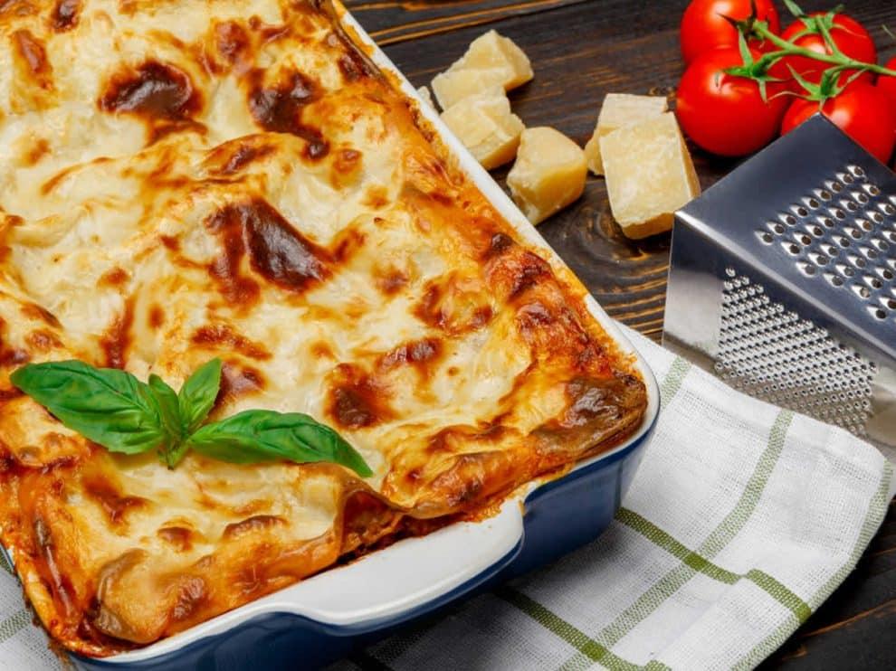 Lasagnes au thon et aux légumes au Thermomix