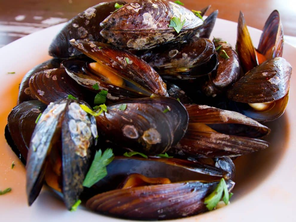 Moules à la provençale, parfaites pour servir à l'apéritif
