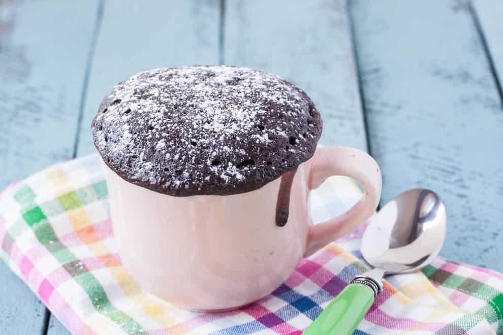 Mug cake Léger au chocolat sans oeufs