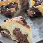 Brioche marbrée vanille chocolat au Thermomix