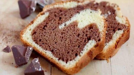 Cake marbré au Toblerone au Thermomix