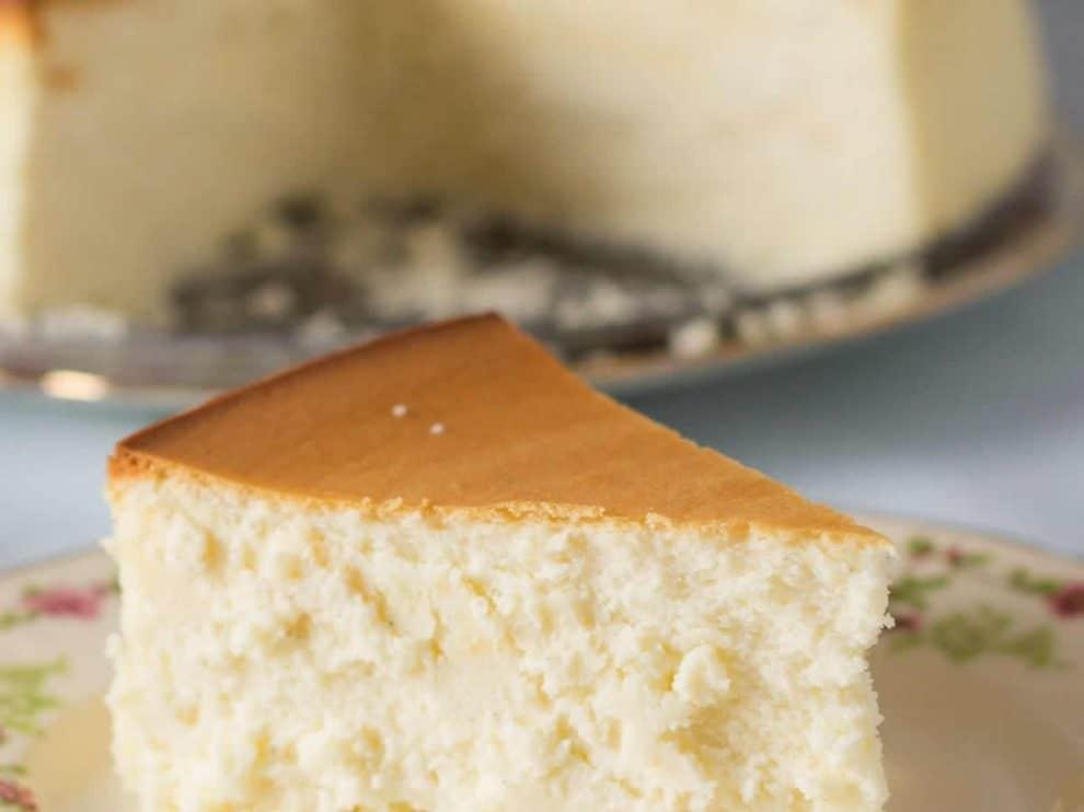 Cheesecake Léger au fromage blanc et à la ricotta