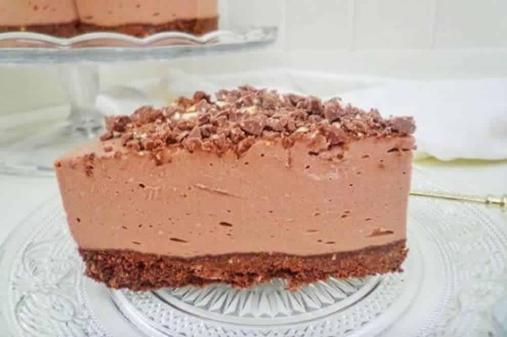 Cheesecake au Toblerone, gourmand et irrésistible